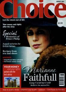 Choice Magazine AUG 21 Order Online
