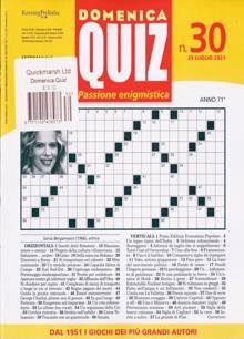 Domenica Quiz Magazine NO 30 Order Online