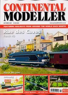 Continental Modeller Magazine OCT 21 Order Online