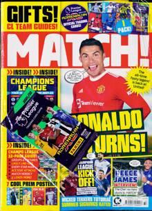 Match Magazine 07/09/2021 Order Online