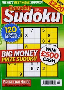 Everyday Sudoku Magazine NO 190 Order Online