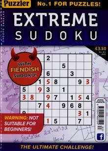 Extreme Sudoku Magazine NO 83 Order Online