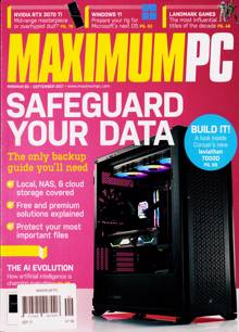 Maximum Pc Magazine SEP 21 Order Online