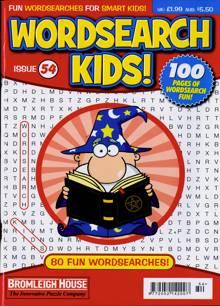 Wordsearch Kids Magazine Issue NO 54