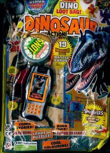 Dinosaur Action Magazine Issue NO 158
