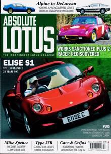 Absolute Lotus Magazine NO 22 Order Online