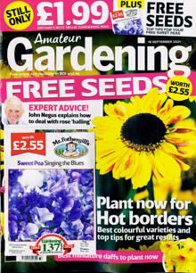 Amateur Gardening Magazine 18/09/2021 Order Online