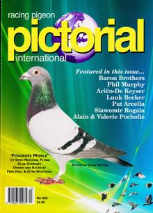 Racing Pigeon Pictorial Magazine Issue NO 593