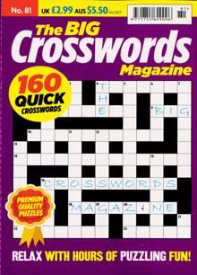 Big Crosswords Magazine NO 81 Order Online