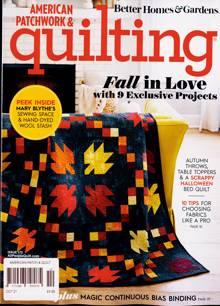 American Patchwork Quilting Magazine OCT 21 Order Online