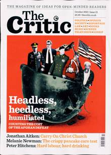 Critic (The) Magazine OCT 21 Order Online