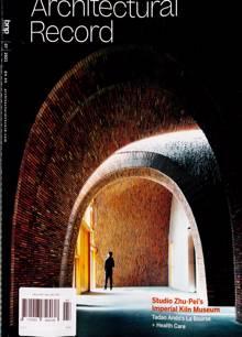 Architectural Record Magazine Issue JUL 21