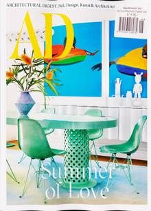 Architectural Digest German Magazine NO 7-8 Order Online