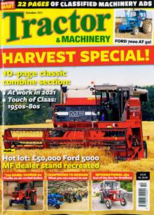 Tractor And Machinery Magazine OCT 21 Order Online