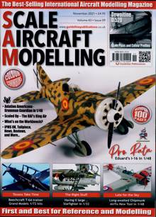Scale Aircraft Modelling Magazine Issue NOV 21