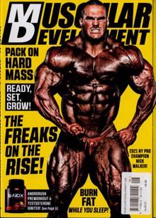 Muscular Development Usa Magazine AUG 21 Order Online