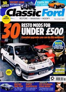 Classic Ford Magazine NOV 21 Order Online