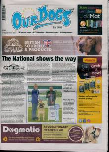 Our Dogs Magazine 17/09/2021 Order Online