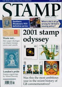 Stamp Magazine Magazine Issue NOV 21