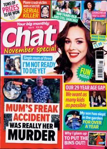 Chat Monthly Magazine Issue NOV 21