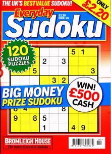Everyday Sudoku Magazine Issue NO 191