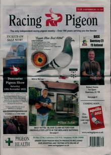 Racing Pigeon Magazine 24/09/2021 Order Online