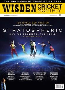 Wisden Cricket Magazine NOV 21 Order Online
