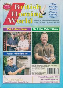 British Homing World Magazine NO 7596 Order Online