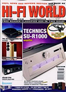 Hi Fi World & Comp Audio Magazine OCT 21 Order Online