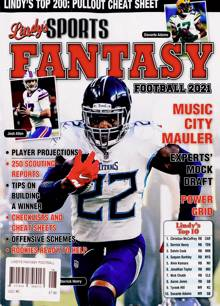 Lindys Fantasy Football  Magazine 2021 N2 Order Online