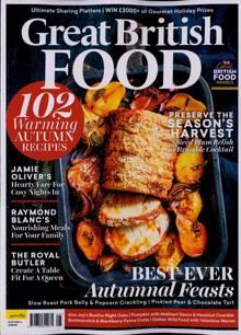 Great British Food Magazine Issue AUTUMN