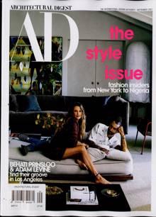 Architectural Digest  Magazine SEP 21 Order Online