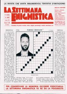 La Settimana Enigmistica Magazine NO 4668 Order Online