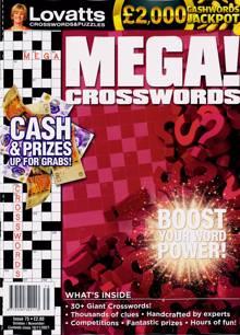 Lovatts Mega Crosswords Magazine Issue NO 75
