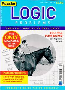 Puzzler Logic Problems Magazine NO 446 Order Online