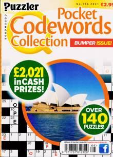 Puzzler Q Pock Codewords C Magazine NO 166 Order Online