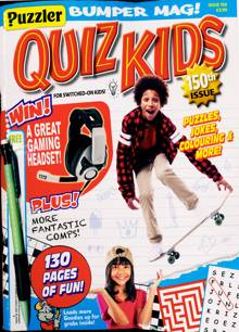 Puzzler Quiz Kids Magazine NO 150 Order Online