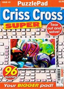 Puzzlelife Criss Cross Super Magazine NO 43 Order Online