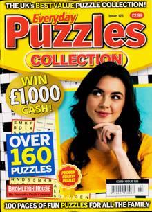 Everyday Puzzles Collectio Magazine Issue NO 125