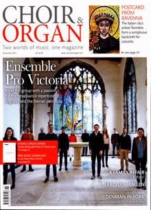 Choir & Organ Magazine NOV 21 Order Online