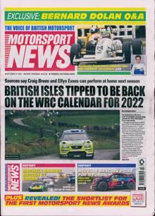 Motorsport News Magazine 21/10/2021 Order Online