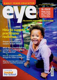 Early Years Educator Magazine Issue NOV 21