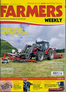 Farmers Weekly Magazine 15/10/2021 Order Online