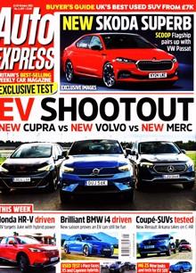 Auto Express Magazine 13/10/2021 Order Online