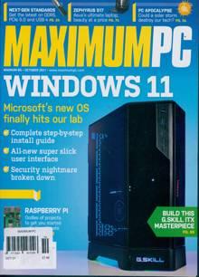 Maximum Pc Magazine OCT 21 Order Online
