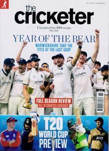 Cricketer Magazine OCT 21 Order Online