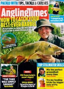 Angling Times Magazine 14/09/2021 Order Online
