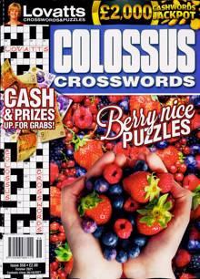 Lovatts Colossus Crossword Magazine NO 358 Order Online
