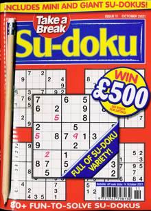 Take A Break Sudoku Magazine NO 11 Order Online