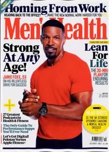 Mens Health Magazine OCT 21 Order Online